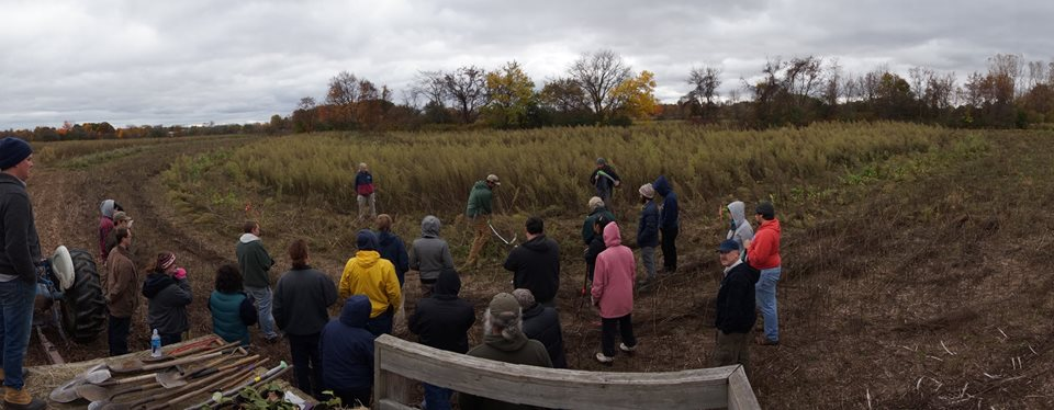 SoMI Permaculture Mixer at Dawn Farm