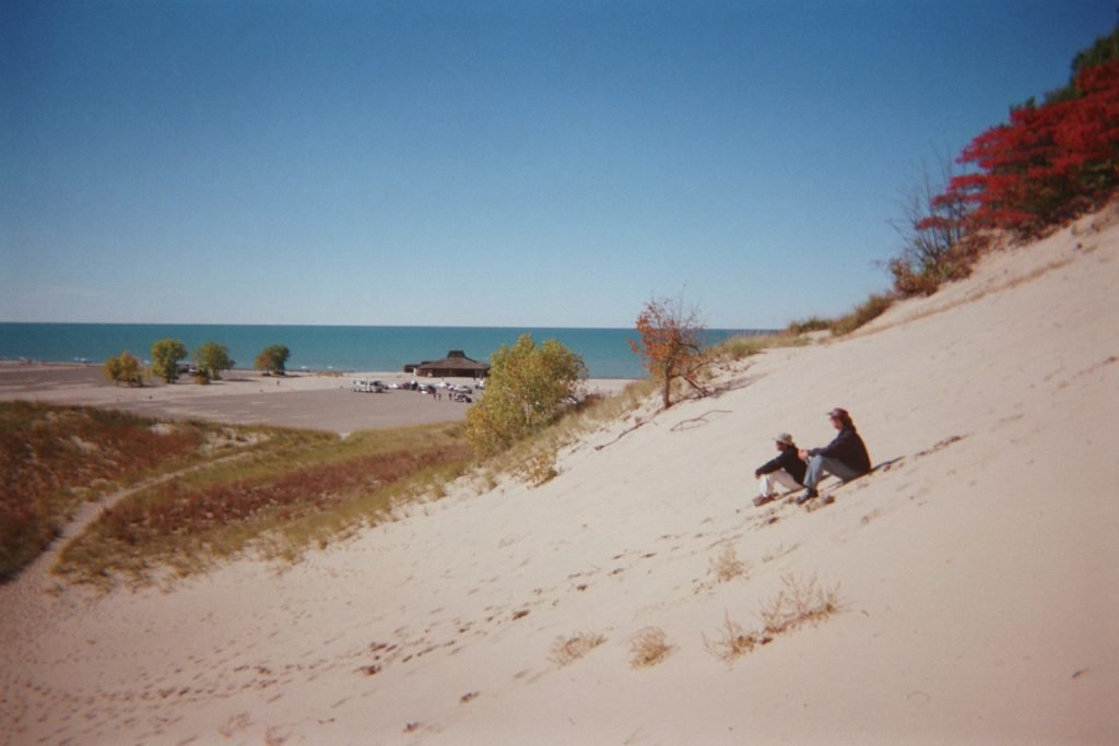 Michigan Dunes back in the day